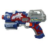 Nerf Pistola Capitão America Atira Dardos- Lindona!!!