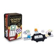 Domino Doble 12 Tren Mexicano Ronda Caja Metálica 91 Fichas