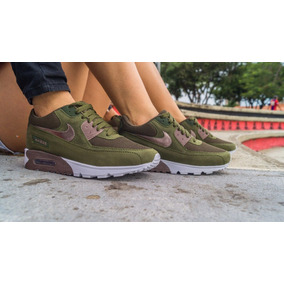 nike mujer verde militar zapatillas