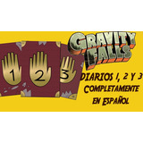 Gravity Falls Diario 1, 2 Y 3 En Español Digital / Imprimir