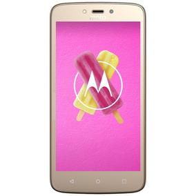 Celular Libre Motorola Moto C Plus Dorado