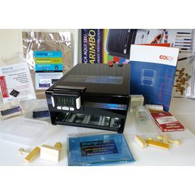 Máquina De Carimbos, Kit Fabric 100 Carimbo 12xs/j Stampset
