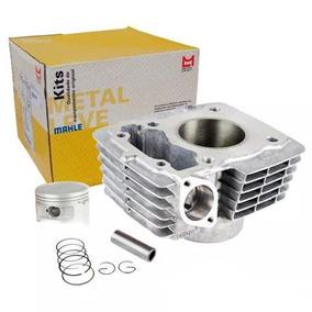 Cilindro Do Motor Com Pistão/anel Ybr / Xtz 125 - Metal Leve