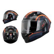 Casco Integral Roda Course Aquila Mate Gafas Certificado Dot