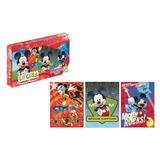 Rompecabeza Las Casa De Mickey Mouse 3 X 35 Piezas De Ronda
