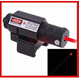 Mira Tactica Laser Red Dot Para Pistola Rifle Aire Gotcha Fu