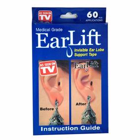 Ear Lift - Adesivo Sustencao Para Brinco Em Orelha Rasgada