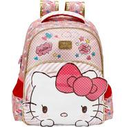 Mochila  E Estojo Hello Kitty Lovely Xeryus G- 7902