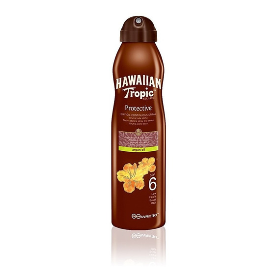 Hawaiian Tropic Bruma Aceite Seco Argán Spray Spf6 180ml