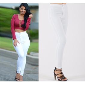 e67f8caf8 Calca Jeans Feminina Cor Principal Branco - Calças Colcci no Mercado ...