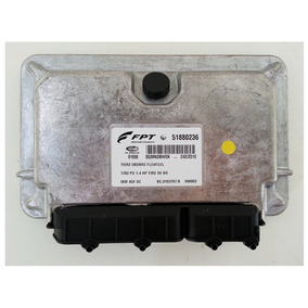 Modulo De Injeção Fiat Strada 1.4 8v Flex - 51880236 - Novo