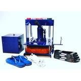 Maquina De Fazer Chinelo / Fabrica Chinelo 2 Ton W Maq
