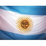 Bandera Argentina De Flameo Con Sol 90x150cm. Alta Calidad