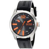Boss Orange Hombre Paris Analog Display Quartz Negro Reloj