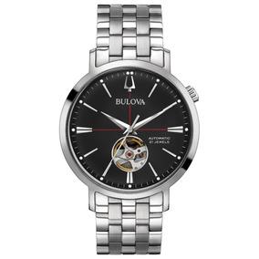 Reloj Bulova Automatico Para Hombre Original 96a199