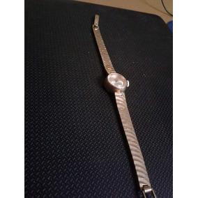 Reloj Enchapado En Oro 18 Kilates, 40 Años De Antigüedad.