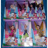 Tinkerbell Campanita Hadas Muñecas Disney Lote X 7