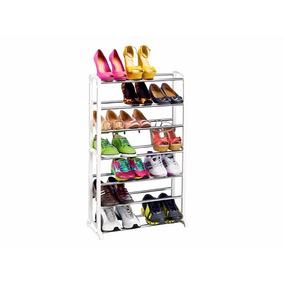 Sapateira Em Aço Cromado P/ Até 21 Pares De Sapatos - Arthi