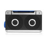Parlante Axess Spbt1063bl Mini Bluetooth Loud Speaker With