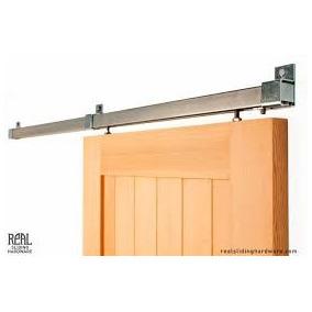 Puerta corrediza con riel superior aberturas en mercado for Riel para puerta corrediza