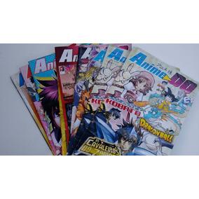 Kit 04 Revistas Quadrinhos Anime Do - Antigas - Frete Único!