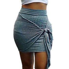 Saia Cintura Alta Hot Pants Cordão Laço Amarrar Moda Insta