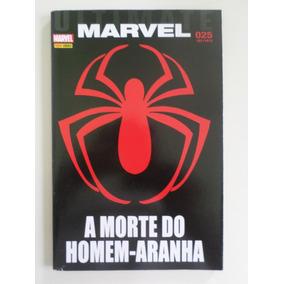 Hq Gibi Ultimate Marvel 25 A Morte Do Homem Aranha