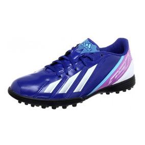 Chuteira Society adidas F5 Trx Tf Masculina - Azul E Roxa · R  219 90 201f1f3cad9ad