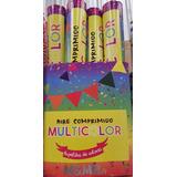Confeti Lanza Papeles Multicolor. Cotillon. Por 12 Unidades.