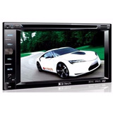 Dvd Double Din E-tech 6,2 Polegadas Bluetooth, Usb, Sd Card