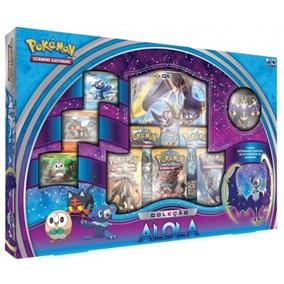 Pokémon Cards - Box Coleção Alola - 34 Cartas