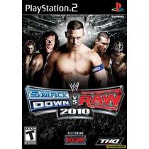 Wwe Smackdown Vs Raw 2010 Ps2 Patch - Frete Só 6,00