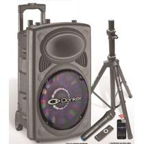 Bafle Recargable Activo Usb Bluetooth Fm 9300w Bocina 15