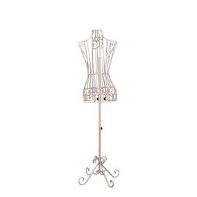 Maniquí Mujer Alambre Acero Exhibidor Decorativo Elegante