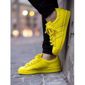 adidas Súper Star Adicolor Amarillas