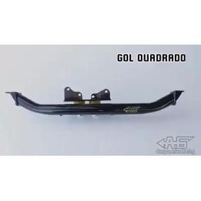 Barra Inferior Gol Quadrado C/ Suporte Duplo Coxim De Câmbio