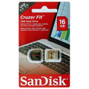 Pen Drive 16gb Sandisk Ultra Mini Micro Cruzer Fit Nano F