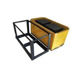 Bloquera Manual 20x20x40cm Pizon Compactador Bloques Cemento