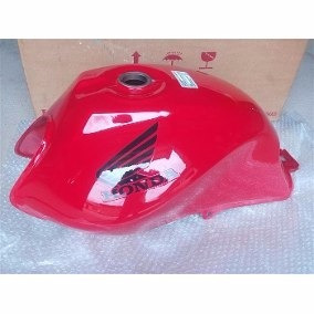 Tanque Combustível Moto Honda Cg125 Fan Vermelho 2009/2012