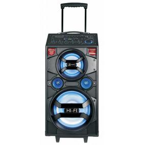 Caixa Multiuso Portátil Lenoxx Ca318, 300w Rms, Bateria 12v