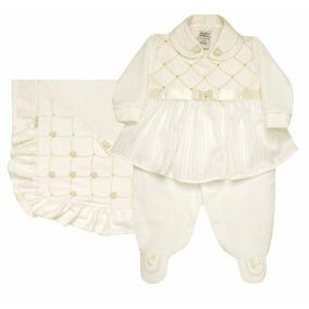 Saída Maternidade Luxo Sonho Magico Kit Liyyle Princess 3pcs