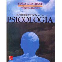 Libro: Introducción A La Psicología - Linda Davidoff - Pdf