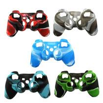 Capa Case Silicone Controle Ps3 E Ps2 Dual Shock 3 Playstati