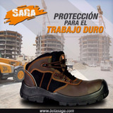Bota De Seguridad Supervisor Saga 4051 Dieléctrica Ingeniero