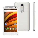 Motorola Moto X Force 32gb Branco Single Chip (xt1580) 21mp
