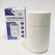 Umidificador De Ar Ultrassônico Aromatizador Branco Lkj-156