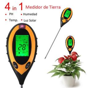 Phmetro Medidor Ph Humedad Luz Temp Suelo Tierra 4 En 1