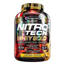 Nitro Tech 100% Whey Gold 6 Lb Lucuma, Mtech - Proteína -