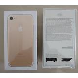 Iphone 7 Dourado 32gb, Anatel, Tela 4,7, Fotos Reais