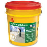 Manta Liquida Impermeabilizante 15kg- Sikafill Rápido Branco